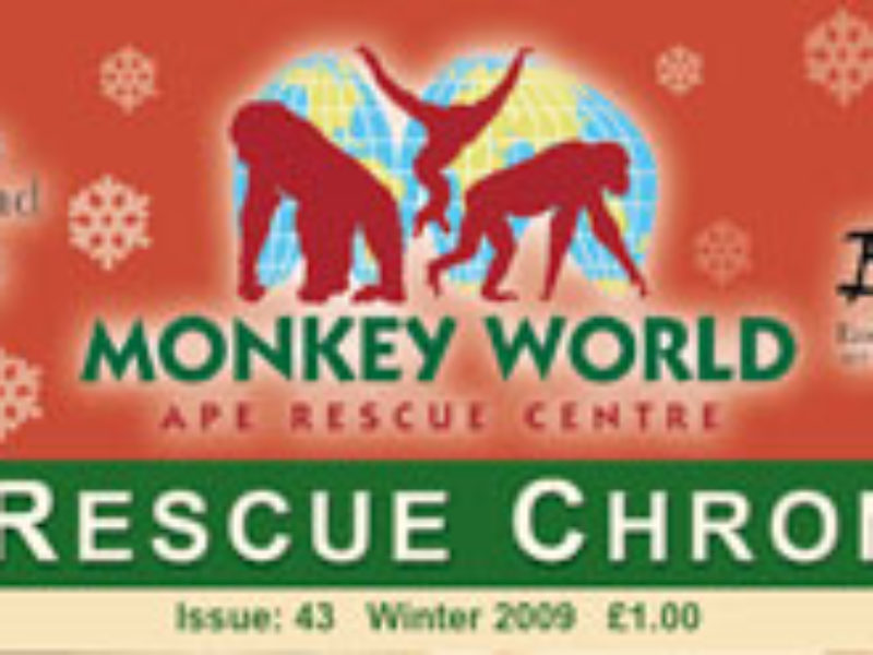 EAST Releases Rescued Primates 2009