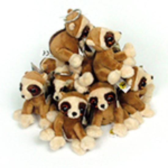 Bespoke pygmy loris keyrings