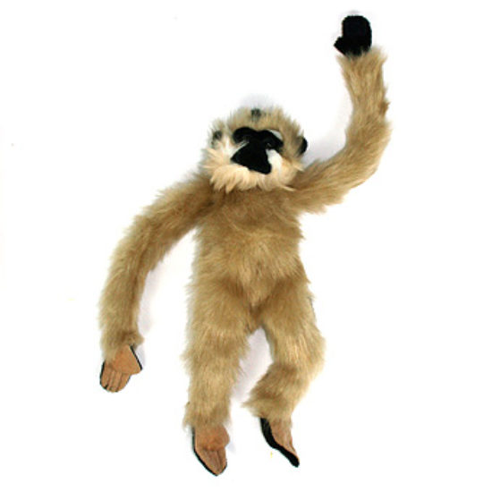 Exclusive Golden-Cheeked Gibbon Toy (Blonde)