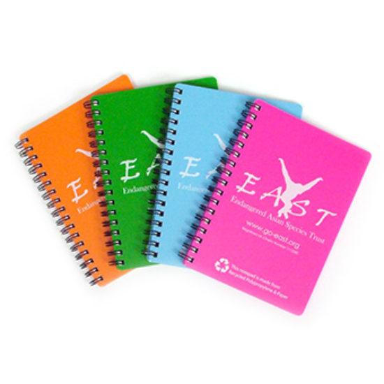 Recycled Polypropyene & Paper Notebook