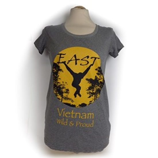 EAST -Vietnam, Wild & Proud Ladies T-shirt